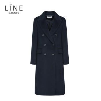 LINE 女士修身羊毛大衣 NRHCJL0200