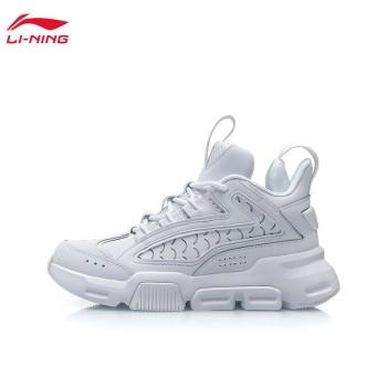 Lining 李宁 汉甲女子中帮篮球休闲鞋AGBP102