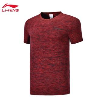 Lining 李宁 训练系列男子短袖T恤ATSP095