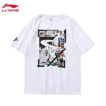 Lining 李宁 迪士尼星战联名款男子短袖文化衫AHSP733
