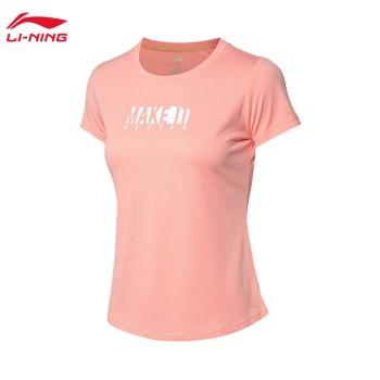 Lining 李宁 训练系列女子速干凉爽短袖T恤ATSP088