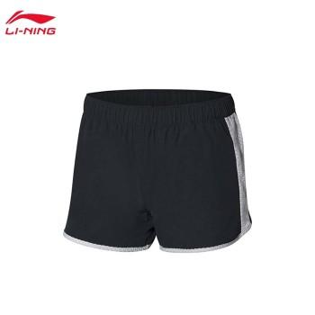 Lining 李宁 跑步系列女子运动短裤AKSP172
