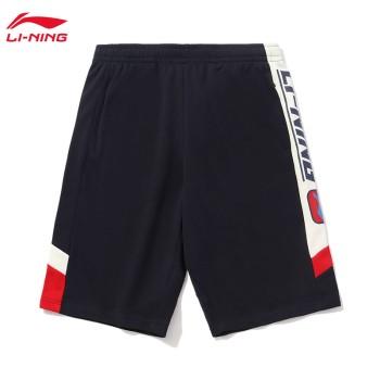 Lining 李宁 运动时尚系列男子短卫裤AKSQ305
