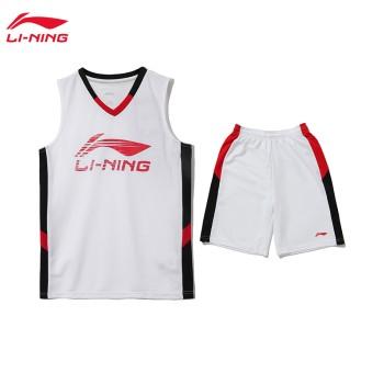 Lining 李宁 男小大童运动生活系列比赛套装YATQ015