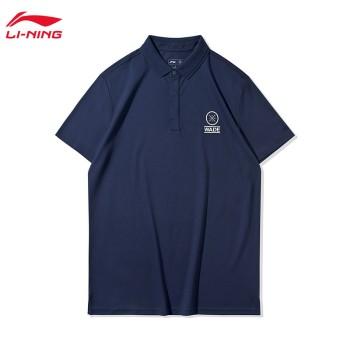 Lining 李宁 韦德系列男子短袖POLO衫APLQ055