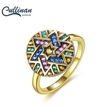 Cullinan 天玺 Tribe部落925银个性复古戒指