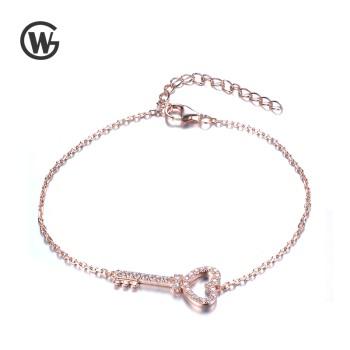 GW 925纯银Key 钥匙手链 YL731