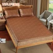 VIPLIFE [藤席系列]床笠款藤席凉席三件套 120*200cm