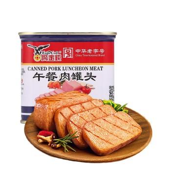 鹰金钱方午餐肉