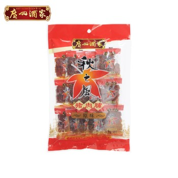 广州酒家利口福秋之风猪肉脯原味【HZGAS】