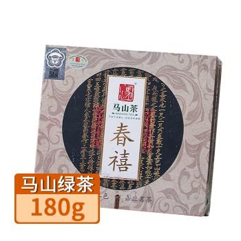 【特产】客天下马山绿茶180g 春禧礼盒