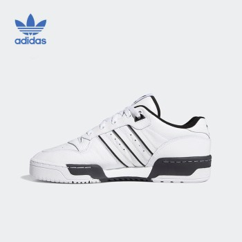 Adidas 阿迪达斯 三叶草 RIVALRY LOW男子经典运动板鞋 EE4657
