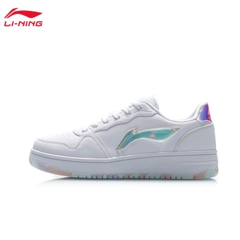 Lining 亚博体育苹果app地址 女子经典休闲鞋AGCP362