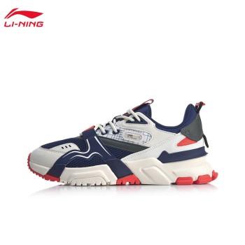 Lining 亚博体育苹果app地址 001征程男子支撑经典休闲鞋AGCQ005