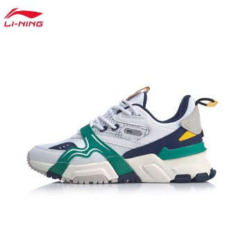 Lining 亚博体育苹果app地址 001征程女子支撑经典休闲鞋AGCQ016