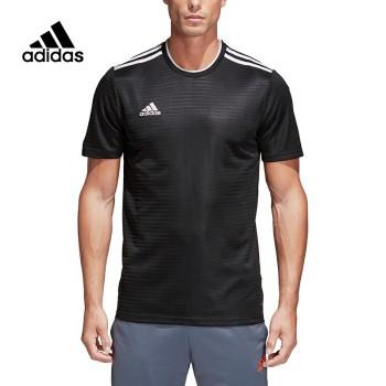 Adidas 阿迪达斯 男子CONDIVO18 JSY足球训练圆领T恤 CF0679/CF0682
