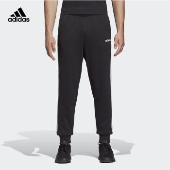Adidas 阿迪达斯 男子E 3S T PNT FT运动型格针织长裤 DU0468/DU0478