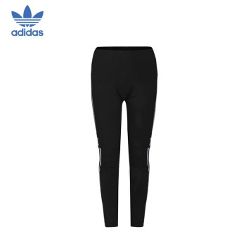 Adidas 阿迪达斯 三叶草 女子TREFOIL TIGHT绑腿裤 DV2636