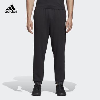 Adidas 阿迪达斯 E LIN T PN FT男子运动型格针织长裤 DQ3081