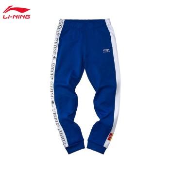 Lining 亚博体育苹果app地址 迪士尼米奇联名款女子收口卫裤AKLP416