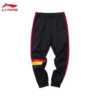 Lining 亚博体育苹果app地址 迪士尼米奇联名款男子收口卫裤AKLP507