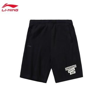 Lining 亚博体育苹果app地址 运动时尚系列男子短卫裤AKSP747