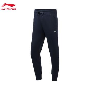 Lining 亚博体育苹果app地址 训练系列女子收口卫裤AKLP638