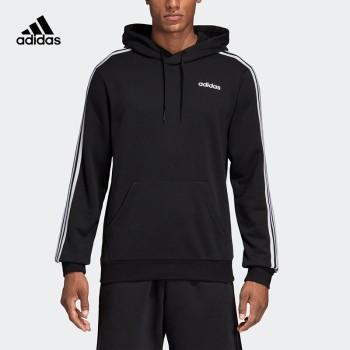 Adidas 阿迪达斯 E 3S PO FT男子运动型格连帽套头卫衣 DU0498