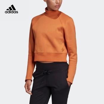 Adidas 阿迪达斯 W VRCT 女子运动型格套头卫衣 DX8419