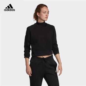 Adidas 阿迪达斯 W VRCT 女子运动型格套头卫衣 EA0417