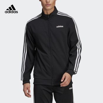 Adidas 阿迪达斯 E 3S TT WVN男子运动休闲夹克 DQ3060
