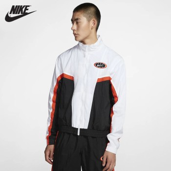Nike 耐克 Nike Throwback男子梭织篮球夹克 AV9756