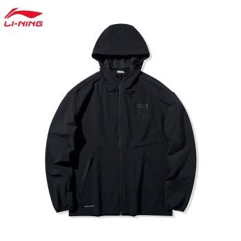 Lining 亚博体育苹果app地址 运动生活系列男子防泼水运动风衣AFDQ027