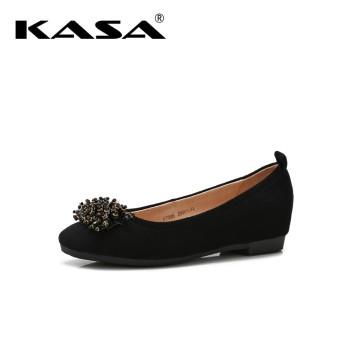 KASA 卡萨 珠饰时尚百搭平底女鞋 K7388