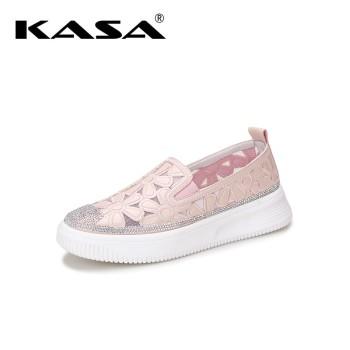 KASA卡萨 镂空花纹舒适休闲女鞋 K9363