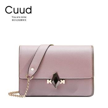 Cuud 古伊西 菱形水晶扣迷你斜挎女包 CXBI1276/1