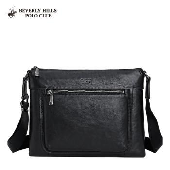Beverly Hills Polo Club 比华利保罗 商务百搭时尚斜挎公文包男包 E108260-902850001