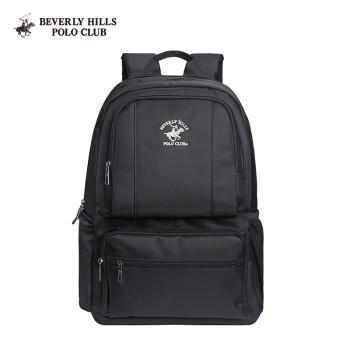 Beverly Hills Polo Club 比华利保罗 男士帆布防泼水电脑双肩包 117312-1400319001