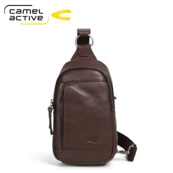 Camel Active 骆驼动感 头层牛皮百搭男士胸包 127043-262973100