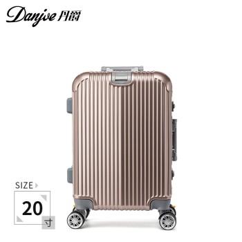 DANJUE/丹爵铝框拉杆箱D23 20寸