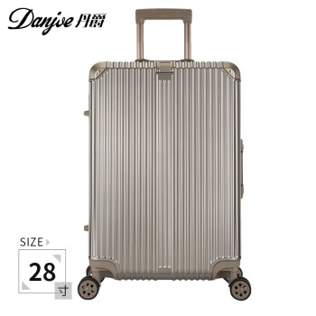 DANJUE 丹爵 PC铝框万向轮行李箱拉杆箱28寸 D2