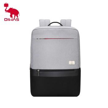 oiwas 爱华仕 个性拼色男士休闲电脑包背包双肩包 OCB4501