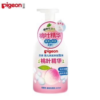Pigeon 贝亲 婴儿洗发沐浴泡沫500ml IA209