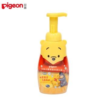 Pigeon 贝亲 儿童洗发沐浴二合一350ml(泡沫型) IA82