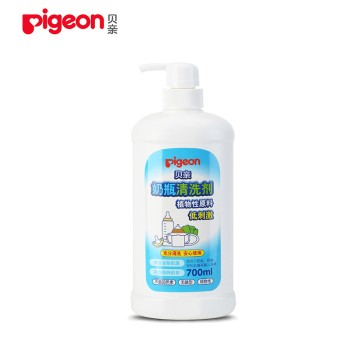 Pigeon 贝亲 奶瓶奶嘴清洗剂700ml MA27 奶渍清洁