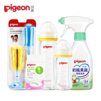 Pigeon 贝亲 奶瓶奶嘴清洁组合
