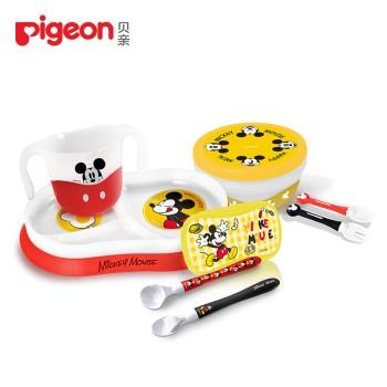 Pigeon 贝亲 亲子乐趣辅食餐具套装 PL351