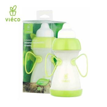 vieco绿糖 进口植物宝宝奶瓶 婴儿 新生儿宽口径防吐奶防摔奶瓶 280ml