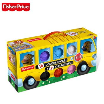 Fisher Price 费雪 彩泥创意巴士 FPP004