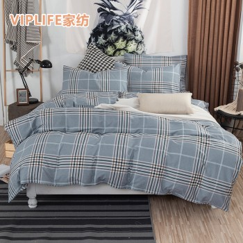 VIPLIFE 全棉床笠四件套 1.8米